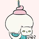 Kitty Cat Cake by zoel