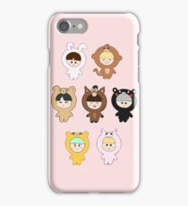 BTS plushie dolls iPhone Case/Skin
