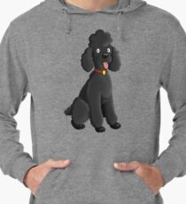 Cartoon Poodle Lightweight Hoodie