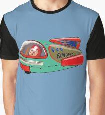 Explorer Space Rocket! Graphic T-Shirt
