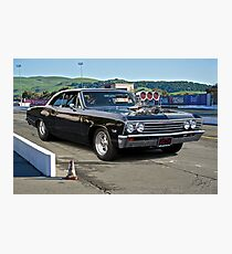 1967 Chevelle Pro Street 'Race Day' Photographic Print