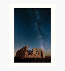 Ruines étoilées Impression artistique