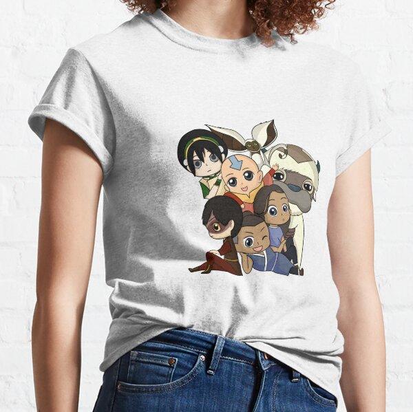 Chibi Avatar Gaang  Classic T-Shirt