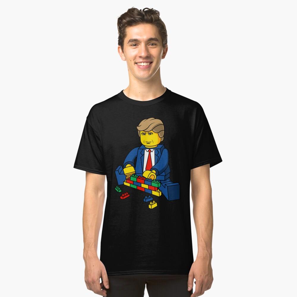 Trump Build A Wall Classic T-Shirt Front