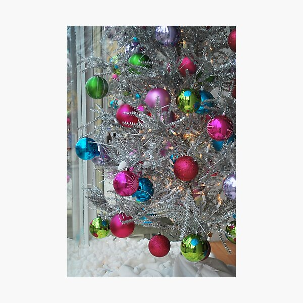 Pastel Christmas  Photographic Print