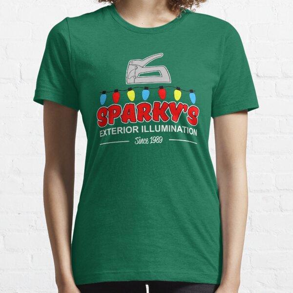 Sparky's Exterior Illumination Christmas lights Essential T-Shirt