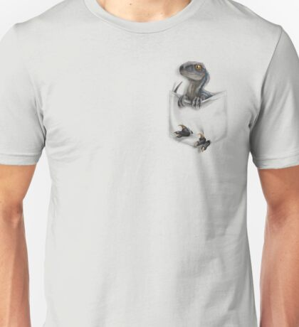 Pocket Protector - Blue Unisex T-Shirt