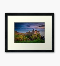 Dunluce Castle  Co Antrim  Northern Ireland Framed Print
