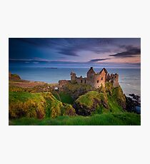 Dunluce Castle  Co Antrim  Northern Ireland Photographic Print