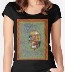 The Shoe Store -The Qalam Series Women's Fitted Scoop T-Shirt