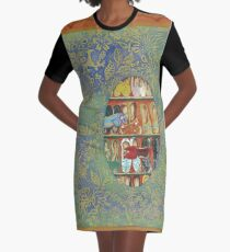 The Shoe Store -The Qalam Series Graphic T-Shirt Dress