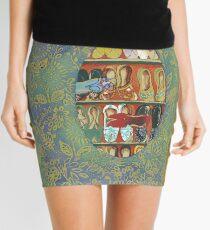 The Shoe Store -The Qalam Series Mini Skirt