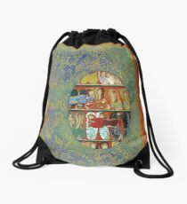 The Shoe Store -The Qalam Series Drawstring Bag