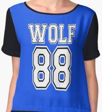 ♥♫I Love KPop-Awesome EXO WOLF 88♪♥ Women's Chiffon Top