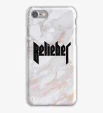 Belieber - Gold Marble iPhone Case/Skin