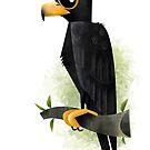 Black Eagle Caricature by rohanchak