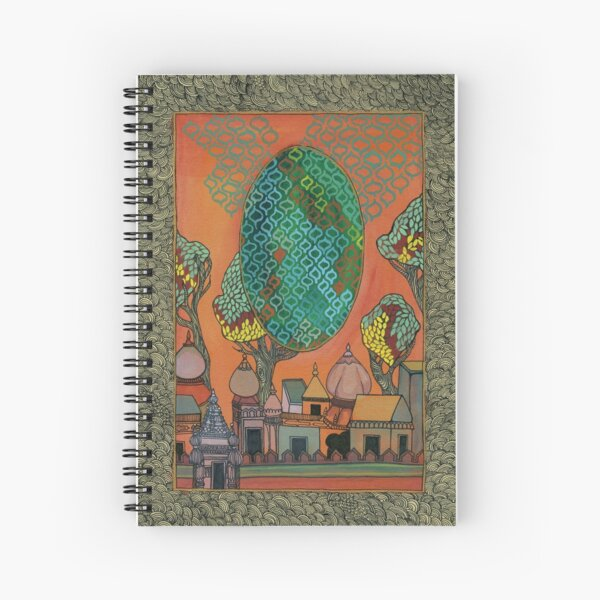 Mughal Skyline - The Qalam Series Spiral Notebook