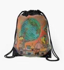 Mughal Skyline - The Qalam Series Drawstring Bag
