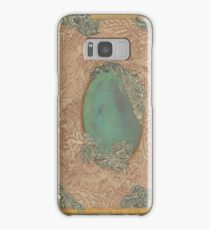 Yellow Pattern - The Qalam Series Samsung Galaxy Case/Skin