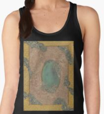 Yellow Pattern - The Qalam Series Women's Tank Top