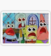 Spongebob crew Sticker