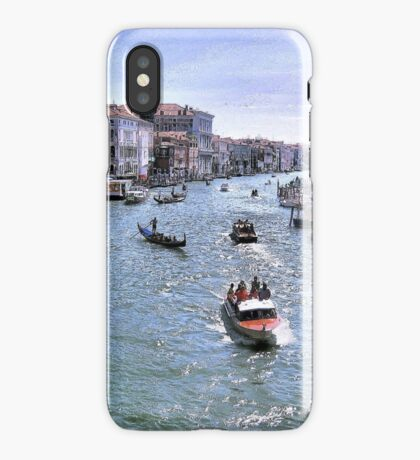 Rush Hour In Venice! iPhone Case