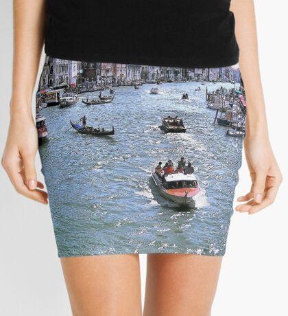 Rush Hour In Venice! Mini Skirt