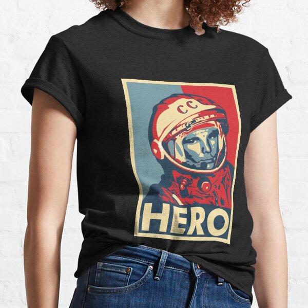 T-Shirt Yuri Gagarin Gros caractères