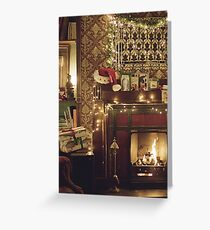 Sherlock Christmas at 221b  Greeting Card