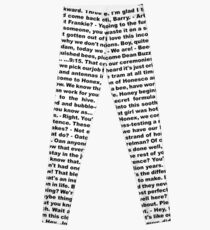 bee movie script ( you can read it) Leggings