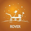 Mars space rover by belusart