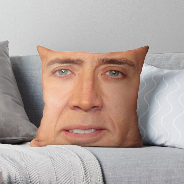 Nicolas Cage Coussin Visage V Coussin