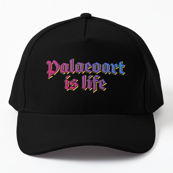 Palaeoart is life Baseball Cap