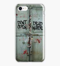 The walking dead - dead inside - zombie iPhone Case/Skin
