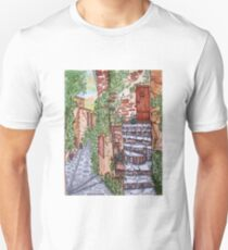 Ancient Crumbling Stone Steps T-Shirt
