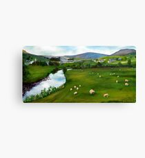 River Ure , Yorkshire dales Canvas Print