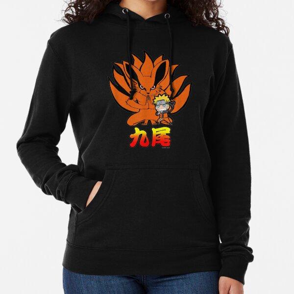 Naruto Shippuden Naruto Kurama Nine Tails Chibi. Leichter Hoodie