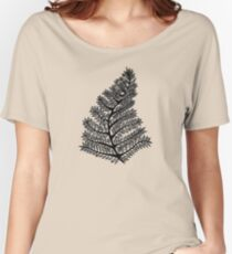 Fern Drawing - 2015 Women's Relaxed Fit T-Shirt