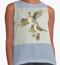 Two Turtle Doves Contrast Tank
