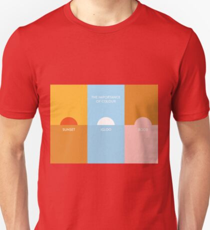 The importance of colour - Sunset T-Shirt