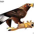 Golden Eagle caricature by rohanchak