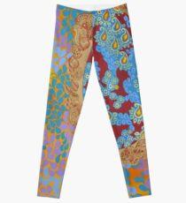 Jewel Tones - The Qalam Series Leggings