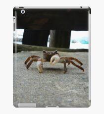 Crab is not amused iPad Case/Skin