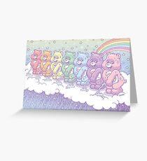 Care Bears - Rain Makers <3 Greeting Card
