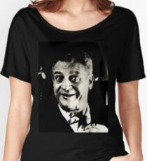 "Rodney Dangerfield Autographed Photo B/W ""Thanks Robert"" Women's Relaxed Fit T-Shirt"