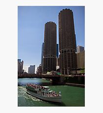 Marina Towers in Chicago Photographic Print