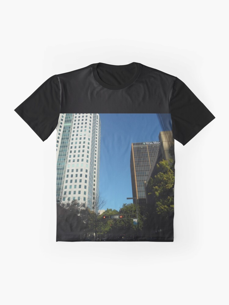 Alternate view of Engulfed in the Scene Graphic T-Shirt