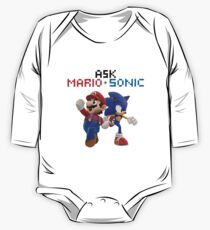 Ask Mario and Sonic #2 Kids Clothes