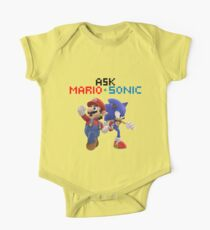 Ask Mario and Sonic #2 One Piece - Short Sleeve