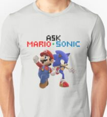 Ask Mario and Sonic #2 T-Shirt